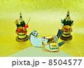 年賀状素材 午 年賀素材の写真 8504577