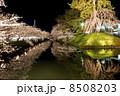 弘前城さくら祭・追手門前(横) 8508203