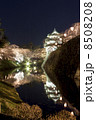 弘前城さくら祭・天守(縦) 8508208