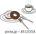 ドーナツ コーヒー 8513358