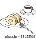 ロールケーキ コーヒー 8513509
