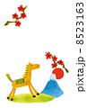 うま 午 馬のイラスト 8523163