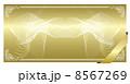 ベクター 金券 背景のイラスト 8567269