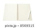 開かれたノート 8569315