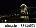 【夜景】セーチェーニ鎖橋-Chain Bridge 8580653