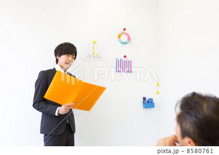 働くビジネスマン 8580761