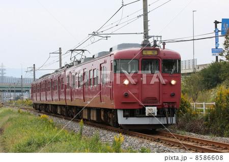 JR西日本 415系800番台 茜色 七尾線 8586608