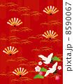 扇 鶴 ベクターのイラスト 8590067