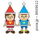 クリスマス(男の子&女の子) 8609612
