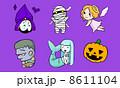 愉快な怪物たち2 紫 8611104