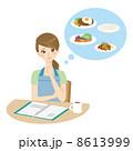 レシピ 献立 主婦のイラスト 8613999