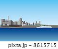 横浜大桟橋と赤レンガ倉庫 8615715