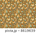花柄 リバティ柄 リバティプリントのイラスト 8619639