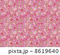 花柄 リバティ柄 リバティプリントのイラスト 8619640