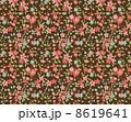 花柄 リバティ柄 リバティプリントのイラスト 8619641