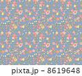 花柄 リバティ柄 リバティプリントのイラスト 8619648