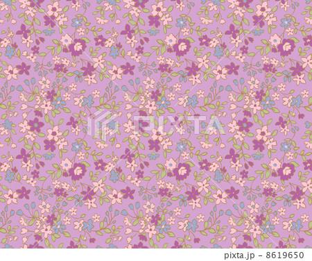 リバティ風小花柄 8619650