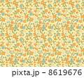 花柄 リバティ柄 リバティプリントのイラスト 8619676
