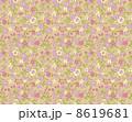 花柄 リバティ柄 リバティプリントのイラスト 8619681