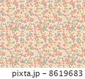 花柄 リバティ柄 リバティプリントのイラスト 8619683