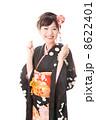 和服 振袖 女性の写真 8622401