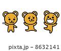 クマのイラスト 8632141