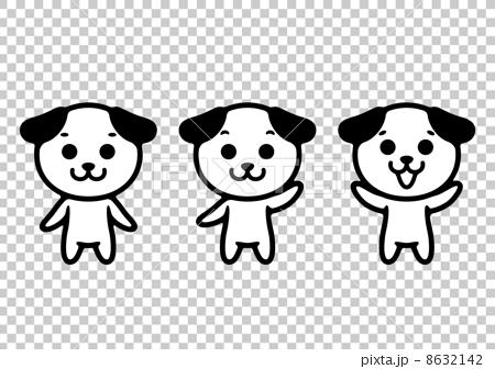 イヌのイラスト 8632142