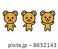 クマのイラスト 8632143