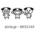 イヌのイラスト 8632144