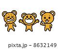 クマのイラスト 8632149