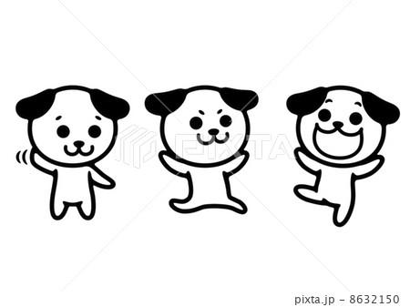 イヌのイラスト 8632150