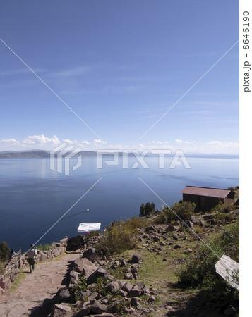 ティティカカ湖 8646190