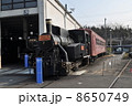 梅小路蒸気機関車館 SL 蒸気機関車の写真 8650749
