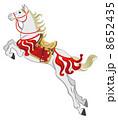 ベクター 飾り馬 馬のイラスト 8652435