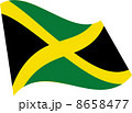 ジャマイカの国旗 8658477