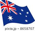 オーストラリアの国旗 8658707