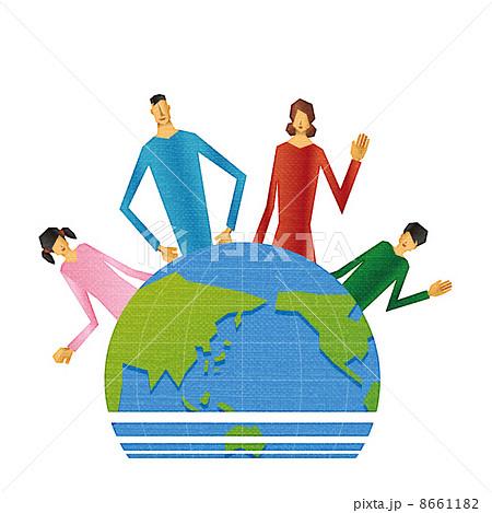 地球と家族 8661182