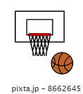 バスケットボール 8662645