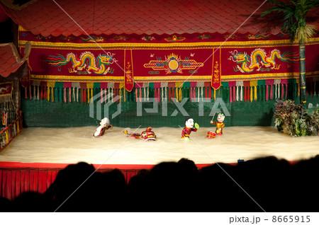 ホーチミン 水上人形劇 8665915