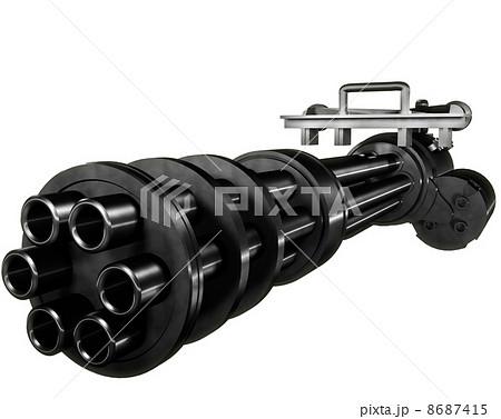 ガトリング砲のイラスト素材 [86...