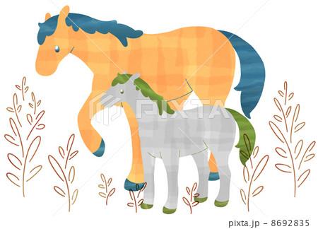 Horseのイラスト素材 [8692835] - PIXTA