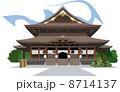 長野の善光寺 8714137