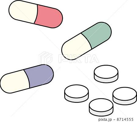 薬のイラスト素材 8714555 Pixta