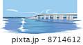 滋賀の琵琶湖大橋 8714612