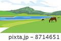 熊本の草千里ヶ浜 8714651