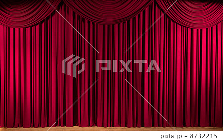 ステージのカーテン 8732215