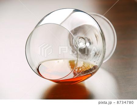 Glass of cognacの写真素材 [8734780] - PIXTA