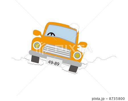 冬道の運転 8735800