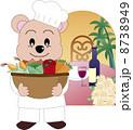 擬人化 コック 料理人のイラスト 8738949