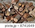 斧 薪割り 手斧の写真 8741649
